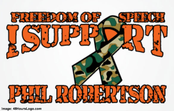 I Support Phil Robertson Sign