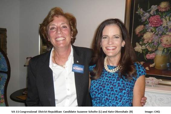 Suzanne Scholte and Kate Obenshain