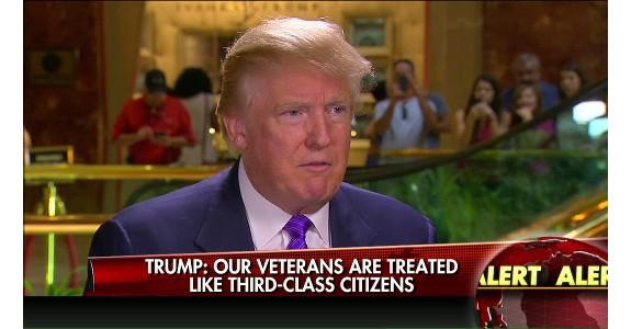Trump on Veterans