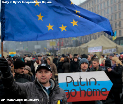 Ukraine Protest in Kiev