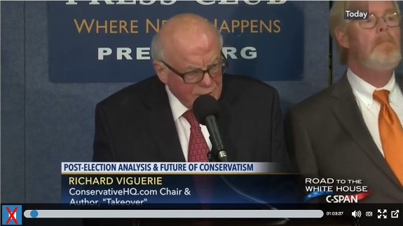 CHQ Chairman Richard Viguerie on CSPAN