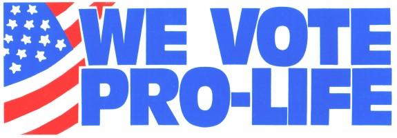 Vote Pro-Life