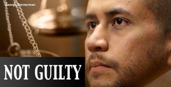 Zimmerman Not Guilty