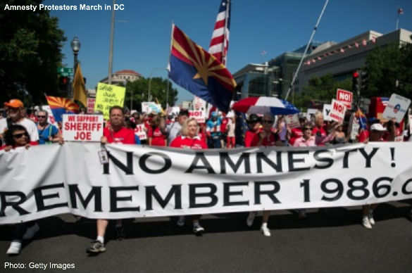 Amnesty Protest DC
