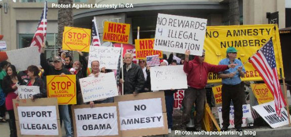 no amnesty protest