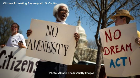 Amnesty Protest