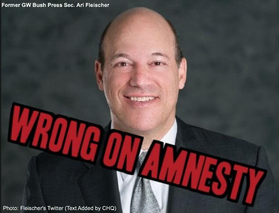 Ari Fleischer is Wrong on Amnesty