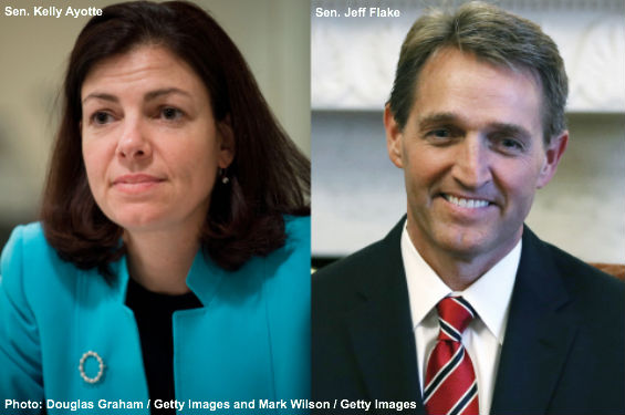 Ayotte and Flake