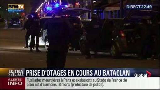 Jihadi attack in Paris