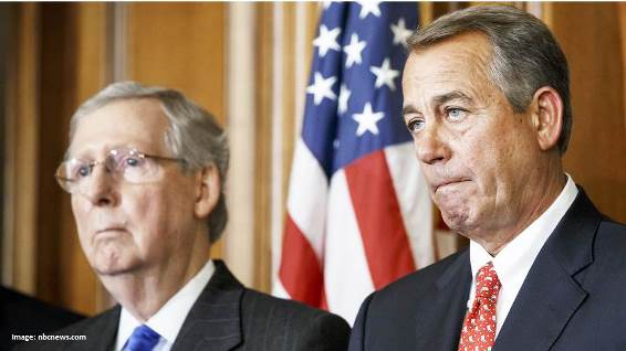 Feckless GOP Leaders Mitch McConnell John Boehner