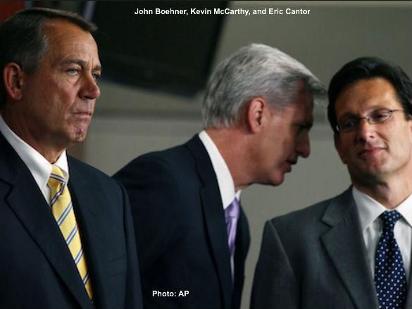 Boehner, McCarthy, Cantor
