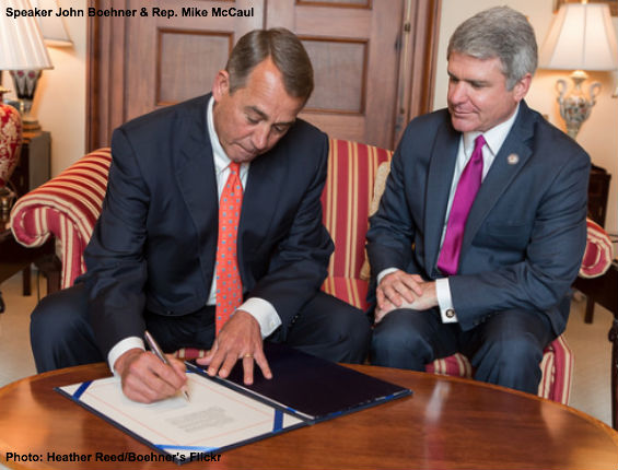 Boehner and McCaul