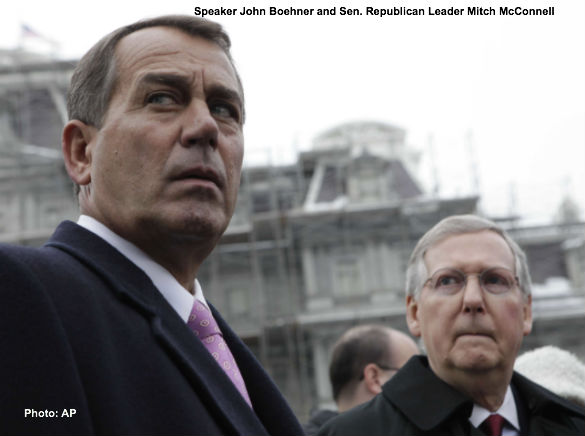 John Boehner and Mitch McConnell