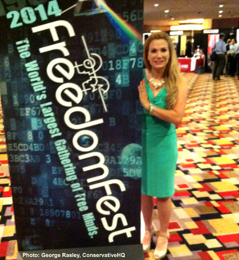 Martha Boneta at FreedomFest 2014