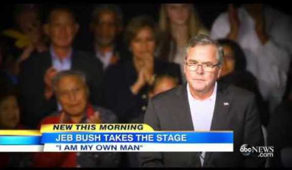 Jeb Bush His Own Man