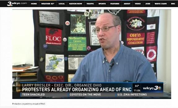 Larry Bresler Organize! Ohio