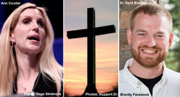Ann Coulter, Christian Cross, and Dr. Kent Brantly