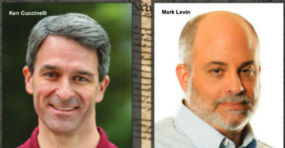 Ken Cuccinelli and Mark Levin