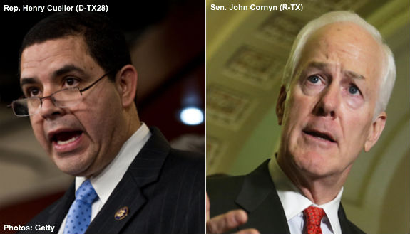 Cuellar and Cornyn