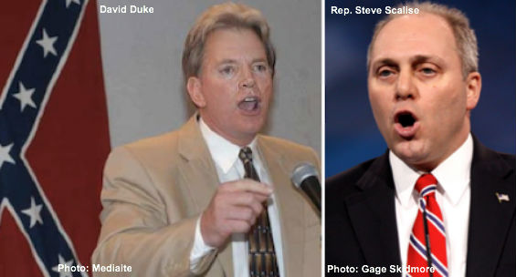 David Duke & Steve Scalise