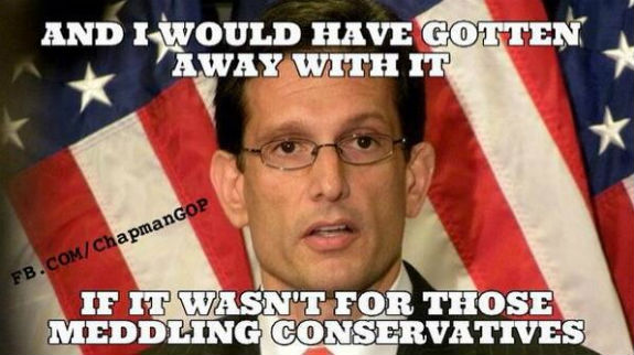 Eric Cantor Defeated