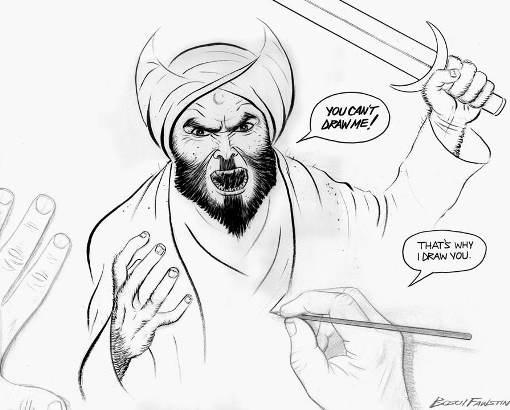 first amendment cartoon