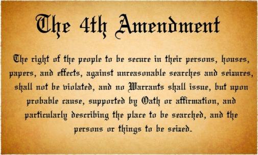 text of the Fourth Amendment