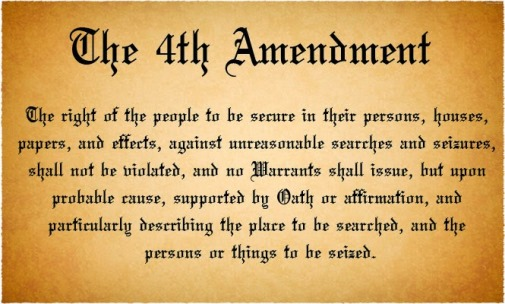 Text of the Fourth Amendment