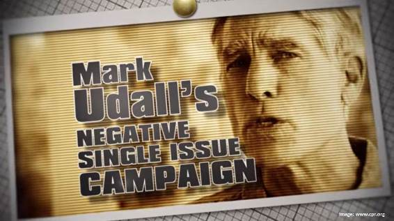 Mark Udall Single Issue Ad