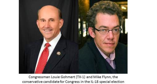 Rep Louie Gohmert and Mike Flynn