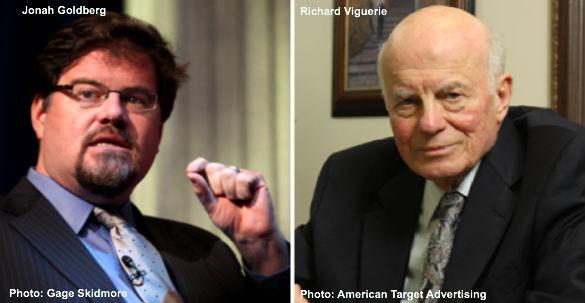 Jonah Goldberg and Richard Viguerie