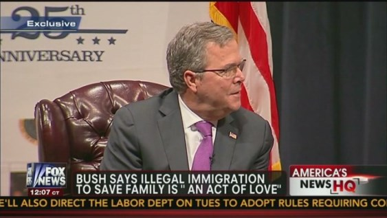 Jeb Bush Quotes Gorgeous The Real Jeb Bush And Amnesty For Illegal Aliens  Conservativehq