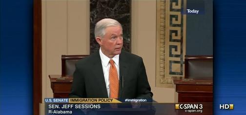 Senator Jeff Sessions On CSPAN