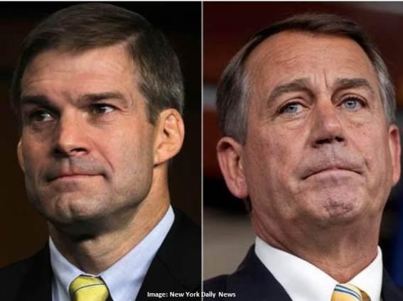 Speaker John Boehner and Rep Jim Jordan