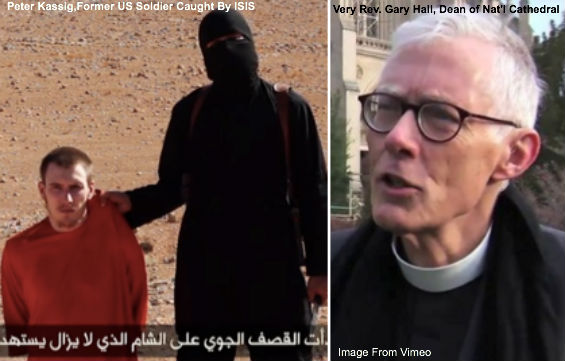 Peter Kassig and Rev. Gary Hall