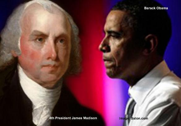 James Madison and Obama