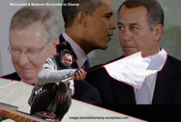 McConnell, Boehner Surrender to Obama