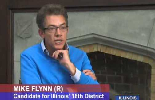 Mike Flynn conservative candidate in IL 18 special election