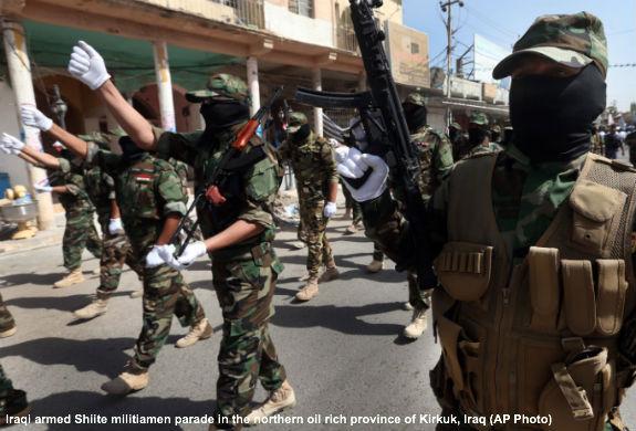 Militant Shiites in Iraq