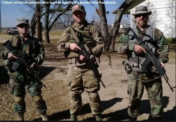 Citizen Militias Arriving At Southern Border