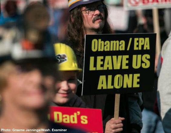 Obama EPA Leave us alone