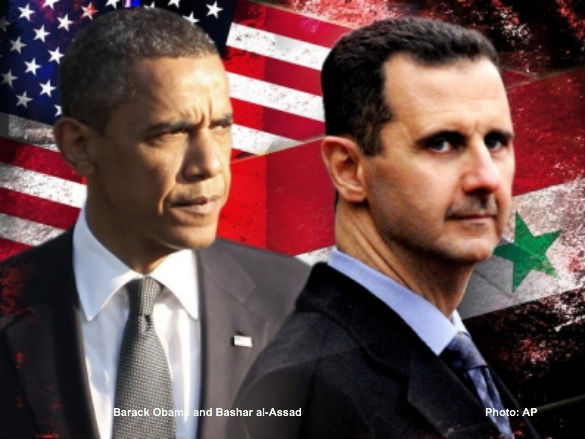 Obama and al-Assad