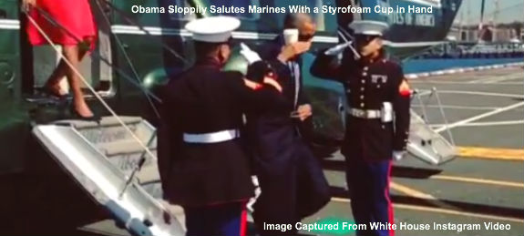 Obama Latte Salute