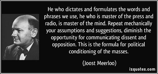 Meerloo Quote