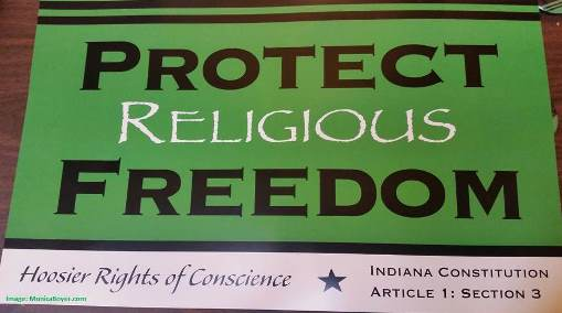 Protect Religious Freedom Poster