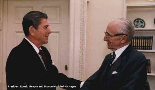 Reagan and Hayek