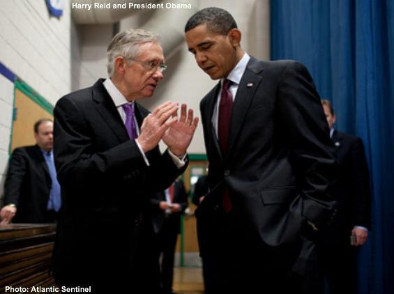 Reid and Obama