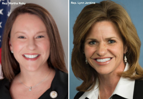 Martha Roby and Lynn Jenkins