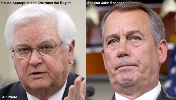 Hal Rogers & John Boehner