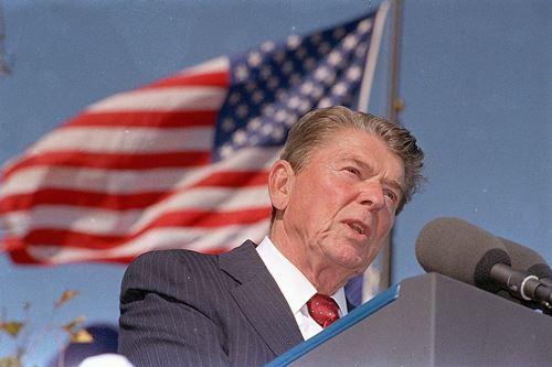 Ronald Reagan Peace through Strength